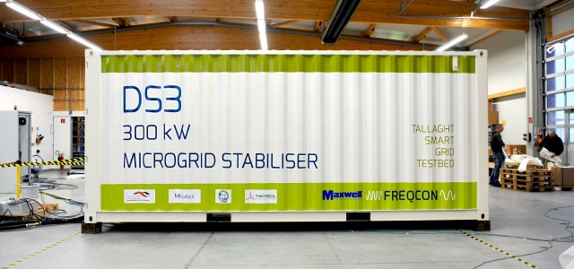 FREQCON Energy Storage System Deployed in  Ireland's DS3 Smart Grid Testbed