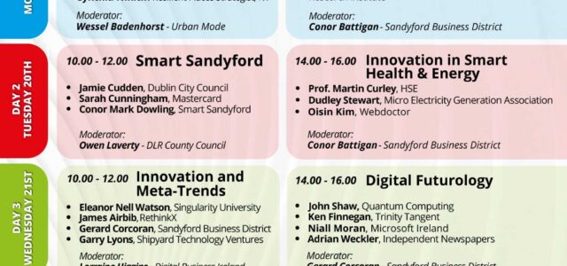 Sandyford Business District Innovation Week